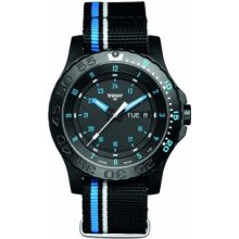 Traser P66 Blue Infinity textile strap