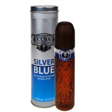 Cuba Silver Blue 100ml - Eau de Toilette for...
