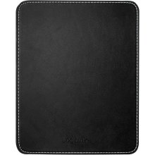 LogiLink Mousepad in leather design, black