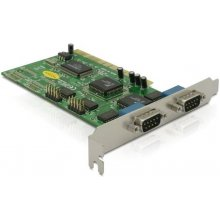 Delock PCI Card 4x D-Sub9 ext