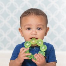 B-kids Water teether Infantino Beads green