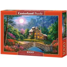 Castor Puzzle 1000 pcs Cottage in the moon...