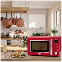 Clatronic Retro mikrolaineahi MWG790R Red