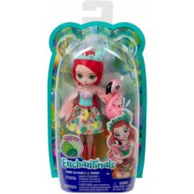 MATTEL ENCHANTIMALS FANCI FLAMI NGO & SWASH