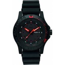 Traser P66 Red Combat rubber strap