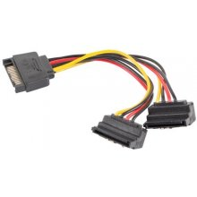 "Lanberg Power cable SATA - SATA 90""x2 M/F..."
