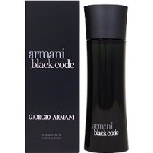 Giorgio Armani чёрный Code, Aftershave...