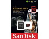 Флешка SanDisk EXTREME microSD 128Gb, for 4K...