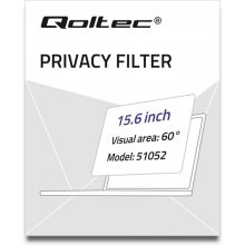 Qoltec Privatizing filter RODO 15,6inch 16:9