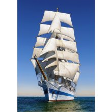 Castor Puzzle 1000 pcs - Under full sail
