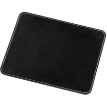Hama MOUSE PAD WITH LEATHER LOOK BLACK