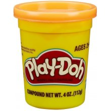 HASBRO Play Doh Tube Single on Tray, Orange