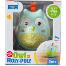 ASKATO Roly Poly Owl turquoise