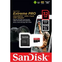 Флешка SanDisk 32GB Extreme Pro, 4k video...