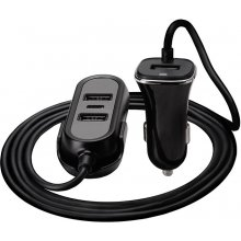 TRACER Car charger 12-24V Multicharge 3xUSB...
