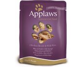 Applaws Eine kotike Chicken&Wild rice 12x70g