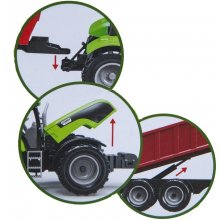 Askato Import Tractor with trailer