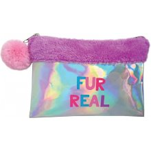 Stnux Make-up bag plush purple