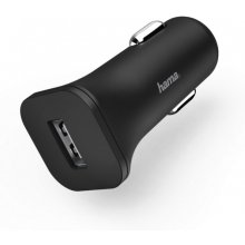 Hama Car Charger USB 12V 1.2A black
