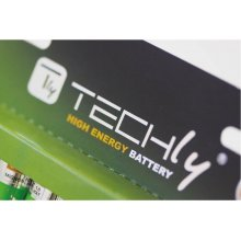 Techly Batteries CR2016 3V 5 pcs...