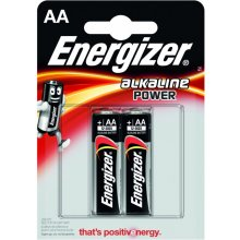 ENERGIZER BATTERY ALKALINE POWER AA E91...