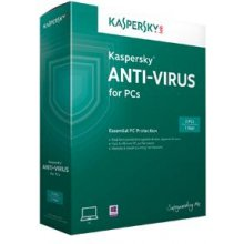 KASPERSKY LAB Kaspersky Anti-Virus for 2 PC...