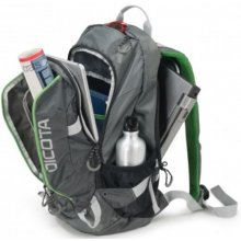 "Dicota Backpack Active 14-15.6"" grey/lime"