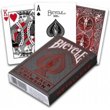 Bicycle Cards Metalluxe Red