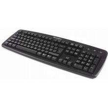 Kensington ValuKeyboard Black, USB+PS/2...