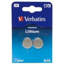 Verbatim Battery CR2032 (2pcs blister)