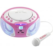 Lenco SCD-650 pink - FM-radio, CD / MP3...