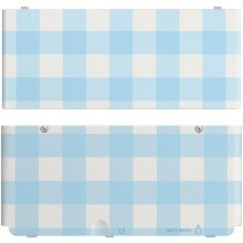 NINTENDO New 3DS Coverplate Blue white...