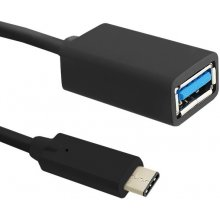 Qoltec USB cable 3.1 C type male   USB 3.0 A...