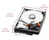 WESTERN DIGITAL Red 2TB SATA 6 Gb/s 5400...