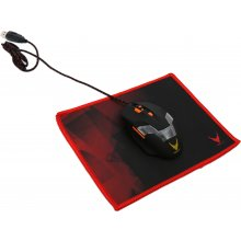 OMEGA mouse pad Varr S, red (OVMP224R)