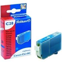 Тонер Pelikan Tinte голубой (Canon CLI-8C)