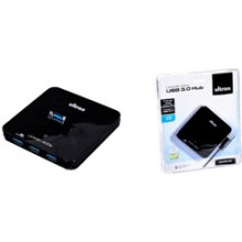 Ultron USB-HUB 4-Port 3.0 extern UHN3I-400s...