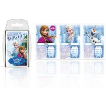 Winning Moves TOP TRUMPS Frozen Card Game