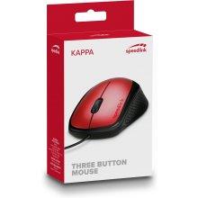 Hiir SPEEDLINK Kappa USB, punane...