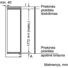 Холодильник BOSCH KIR81AF30 (EEK: A++)