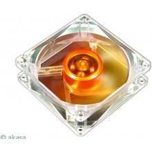 AKASA 8cm Amber Series чехол Fan, 80 x 80 x...