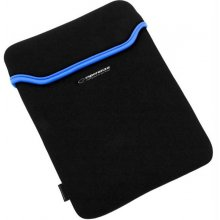 "ESPERANZA Neoprene 7"" tablet case Black/Blue"