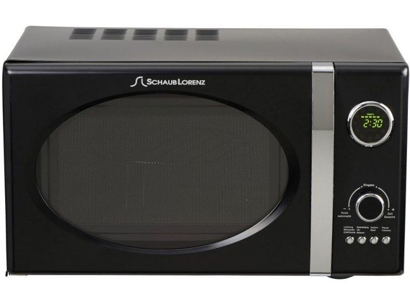 Schaub Lorenz Retro Microwave Oven Mw823gb Black