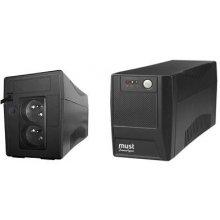 ИБП MUSTEK UPS PowerAgent 848E 800VA, 480W...