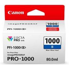 Тонер Canon PFI-1000 B blue