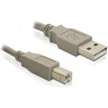 Delock USB kaabel A -> B St/St 1.80m hall