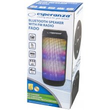 ESPERANZA Speaker FADO bluetooth with LED
