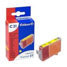 Tooner Pelikan Tinte kollane (Canon BCI-6Y)