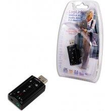 Звуковая карта LogiLink Soundkarte USB 7.1...