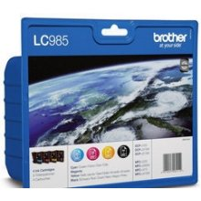 Tooner BROTHER LC985VALBP, Black, Cyan...